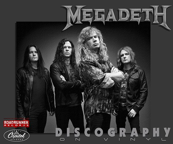 MEGADETH «Discography on vinyl» (14 x LP Combat / Megadeth, Inc. • 1985-2016)