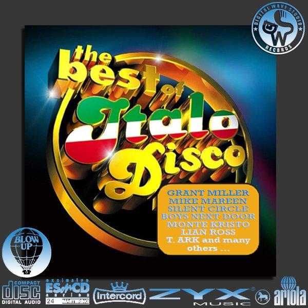 ITALO-DISCO «MEGA Collection 'Golden Disco Series'» (80 x CD • ESonCD/DWS/ZYX • Issue 2003-2017)