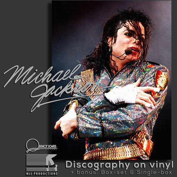 MICHAEL JACKSON «Vinyl Collection + bonus» (13 x LP + 23 x CD •  MJJ Productions • 1979-2014)