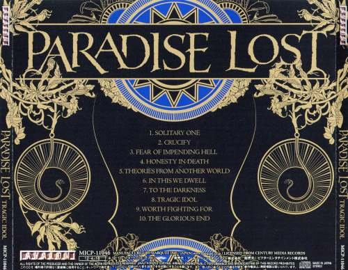 Paradise Lost - Tragic Idol [Japanese Edition] (2012)