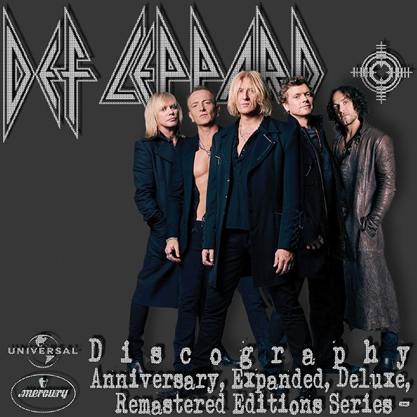 DEF LEPPARD «Anniversary & Deluxe Editions» (43 x CD • Bludgeon Riffola • 1995-2020)