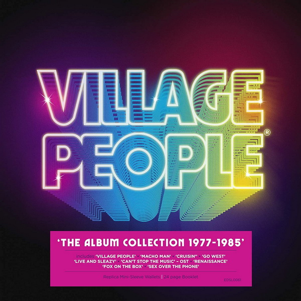 Village People: 2020 The Album Collection 1977-1985 / 10CD Box Set Edsel Records