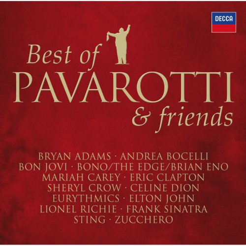 Luciano Pavarotti - Best Of Pavarotti & Friends - The Duets (2008) [FLAC]