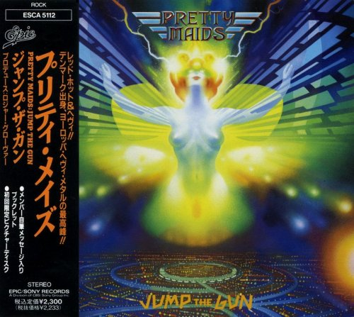 Pretty Maids - Jump The Gun [Japanese Edition] (1990)