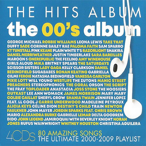 VA - The Hits Album - The 00's Album [4CD] (2020) [FLAC]
