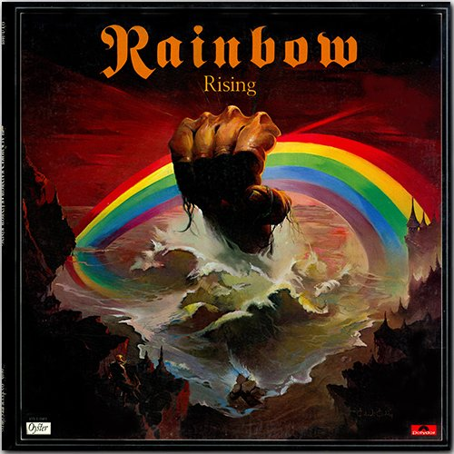 RAINBOW «Discography on vinyl» (19 x LP • PolyGram Records Limited • Issue 1975-2018)