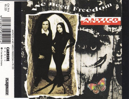 Antico - We Need Freedom (CD, Maxi-Single) 1991
