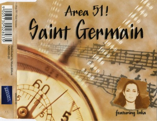 Area 51 ! Feat. Inka - Saint Germain (CD, Maxi-Single) 1999