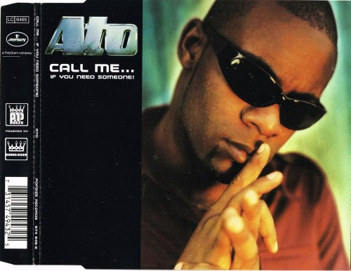 Ato Feat. Dacia - Call Me... If You Need Someone! (CD, Maxi-Single) 1997