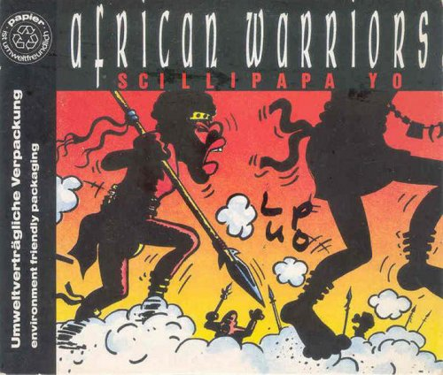 African Warriors - Scillipapa Yo (CD, Maxi-Single) 1991