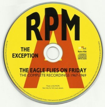 The Exception - The Eagle Flies On Friday, Complete Recordings (1967-69) (Remastered, 2014)