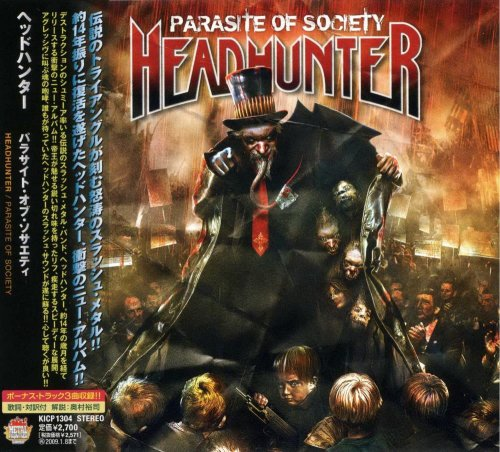 Headhunter - Parasite Of Society [Japanese Edition] (2008)