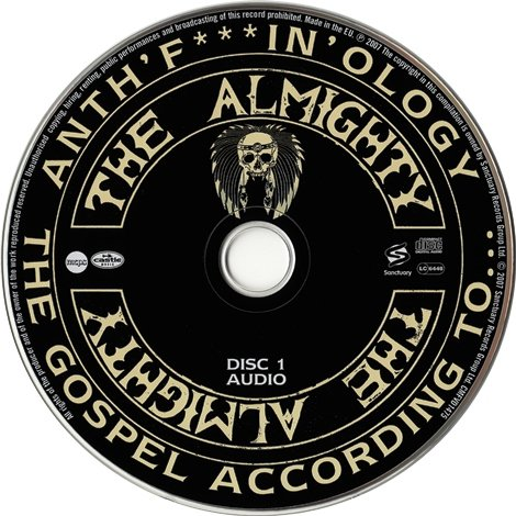 The Almighty - Anth'f***In'ology: The Gospel According To (2007)