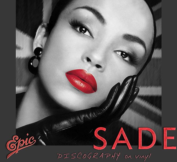 SADE «Discography on vinyl» (6 x LP • Epic Records • 1984-2010)