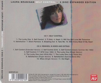 Laura Branigan – Self Control (1984)[Expanded, Remastered 2020] 2CD