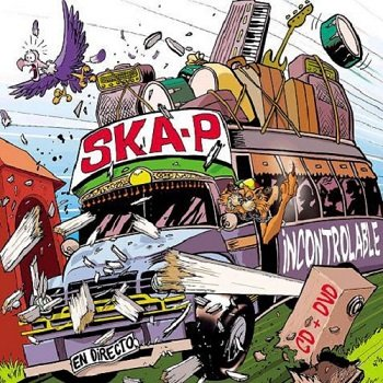Ska-P - Incontrolable - En Directo (2003)