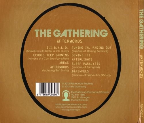 The Gathering - Afterwords (2013)