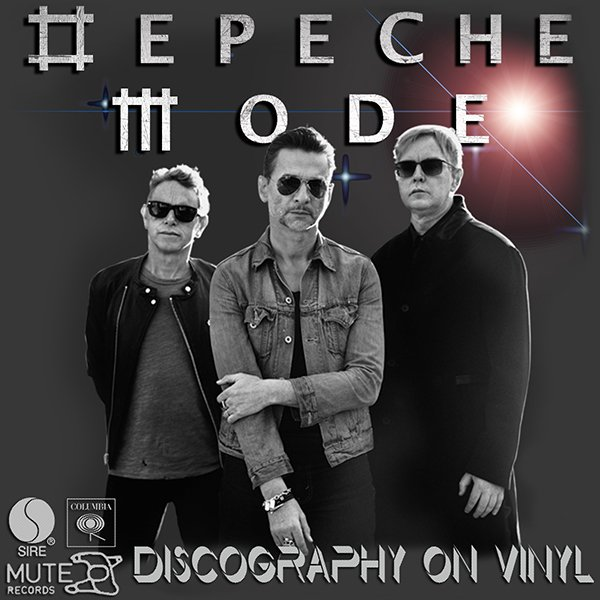 DEPECHE MODE «Discography on vinyl» (32 x LP Mute Records Ltd. • 1981-2017)