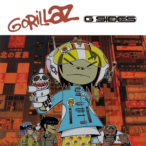 Gorillaz - G Sides (2001/2020 Record Store Day) [Vinyl Rip, Hi-Res]