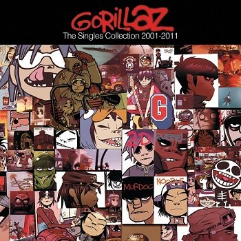 Gorillaz - The Singles Collection 2001-2011 (2011)