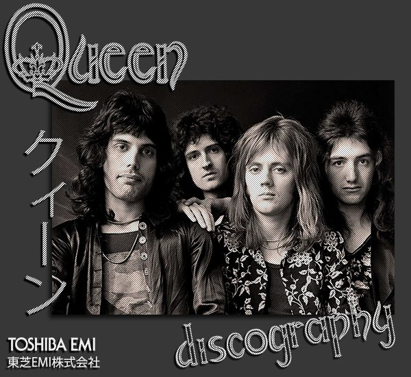 QUEEN «Discography» (26 x CD • Japan 1st Press + bonus • 1973-1999)