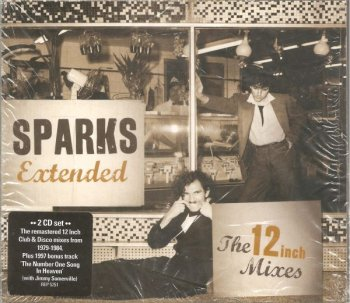Sparks ‎– Extended: The 12 Inch Mixes (1979-1984) (2CD) (2012)