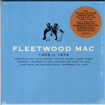 Fleetwood Mac - Fleetwood Mac: 1969 To 1974 (2020) 8CD BOX
