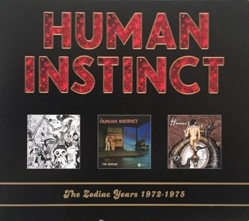 Human Instinct - The Zodiac Years (1972-1975) (Remastered, 2010) 3CD BOX