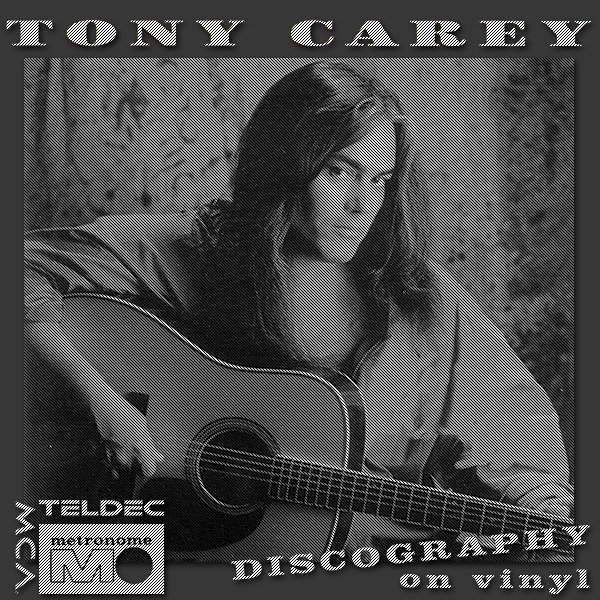 TONY CAREY + PLANET P PROJECT «Discography on vinyl» (10 x LP + bonus CD • 1St Press • 1982-1992)
