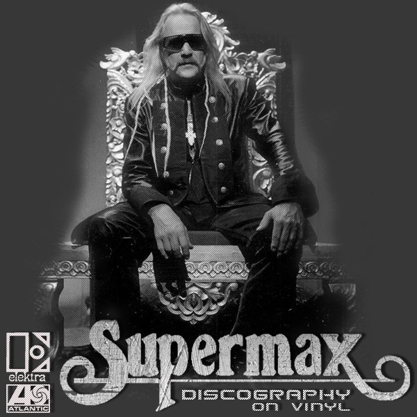 SUPERMAX «Discography on vinyl» (9 x LP • 1St Press • 1977-1990)