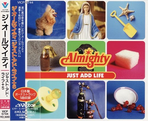 The Almighty - Just Add Life (1996) [Japan Edit.]