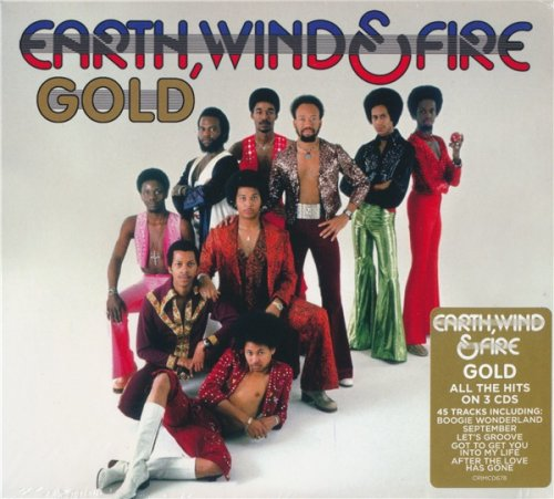 Earth, Wind & Fire - Gold (3CD Set 2020)