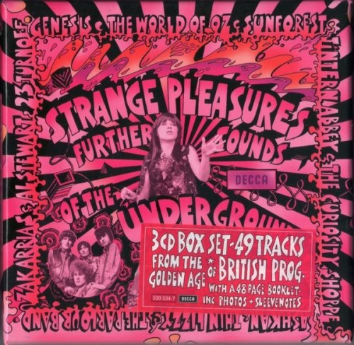 V.A. - Strange Pleasures: Further Sounds of the Decca Underground (1966-75) (Remastered, 2008) Box Set 3CD
