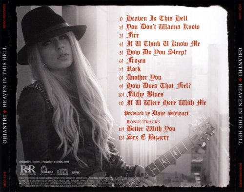Orianthi - Heaven In This Hell [Japanese Edition] (2013)