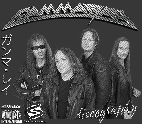 GAMMA RAY «Discography» (25 x CD • Victor Records • 1990-2015)
