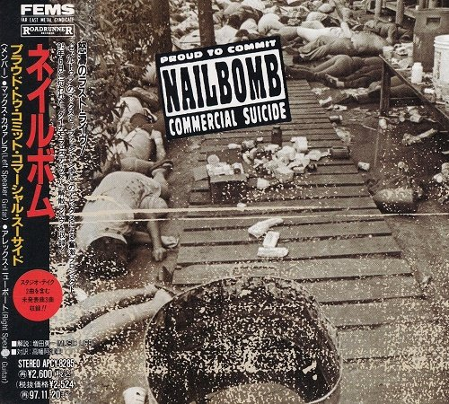 Nailbomb - Proud To Commit Commercial Suicide (Live) 1995