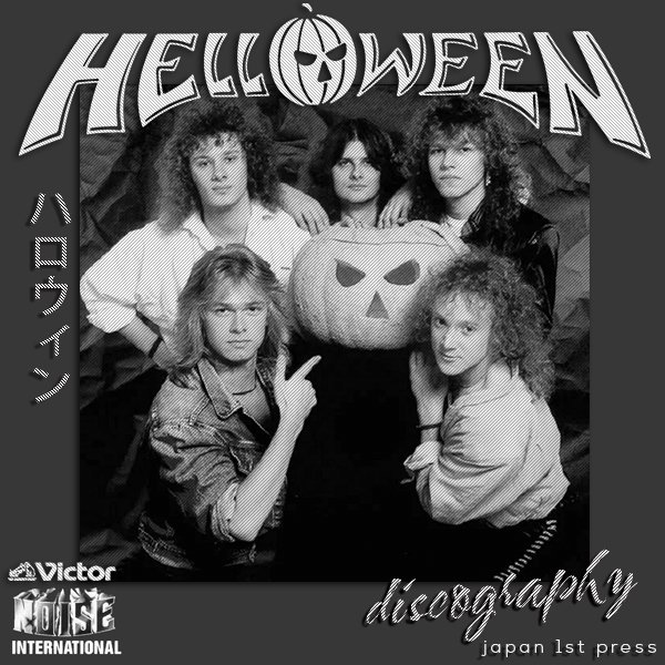 HELLOWEEN «Discography» (27 x CD • Japan 1St Press • 1985-2017)