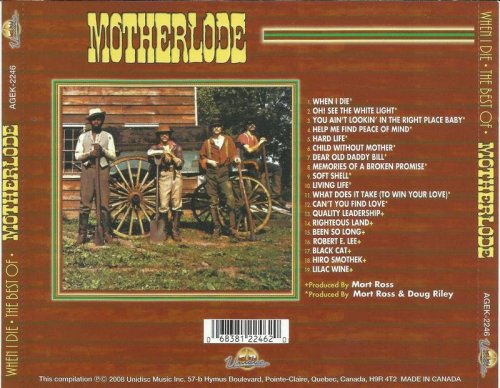 Motherlode - When I Die The Best Of Motherlode (1970-72) (Remastered, 2008)