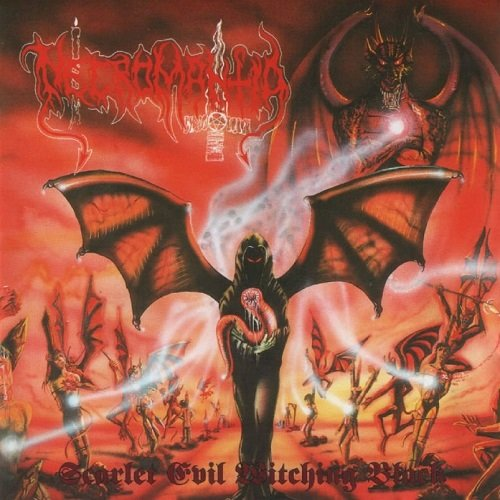 Necromantia - Scarlet Evil Witching Black (1996, Re-released 2005)
