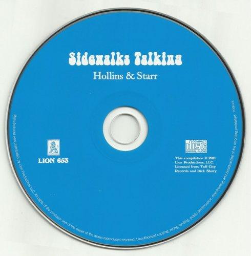 Hollins And Starr - Sidewalks Talking (1970) (Limited Edition, 2011)
