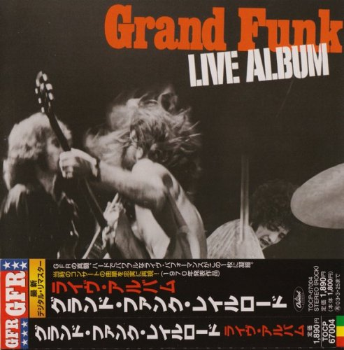 Grand Funk Railroad - Live Album (1970) (Japan Remastered, 2002)