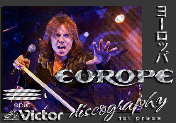 EUROPE + JOEY TEMPEST «Discography + solo» (18 x CD • 1St Press • 1983-2017)