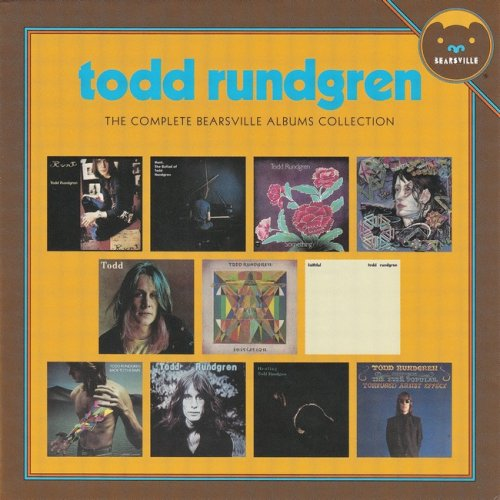 Todd Rundgren - The Complete Bearsville Albums Collection (1970-82) (2016) Box Set 13CD