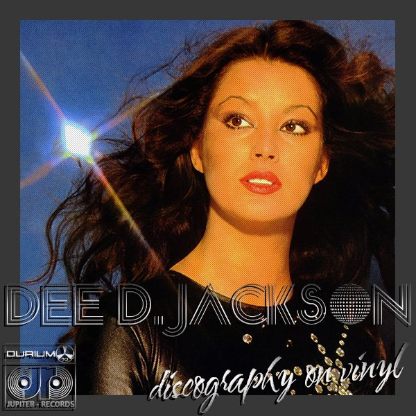 DEE D. JACKSON «Discography on vinyl» (5 x LP • Jupiter Records • 1978-1981)